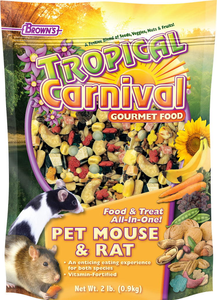 Tropical Carnival Rat Food Good For Your Rats
