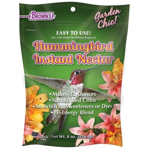 Product Instant Gardens : Garden chic hummingbird instant nectar f m brown s
