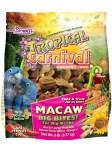 """Tropical Carnival® Gourmet Macaw """"Big Bites"""" Food"""