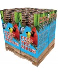 240 pc. - 5 lb. Bird Lover's Blend® No Waste Blend Quad Bin