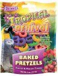 Tropical Carnival Baked Pretzels Parrot & Macaw Treats