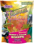 Tropical Carnival® Zoo-Vital® Parrot & Macaw Biscotti Treat