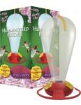 Garden Chic!® 32 oz. Capacity Hummingbird Feeder Plus Food