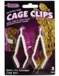 Brown's® Easy-To-Use Cage Clips