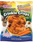 Tropical Carnival® Crinkle Crisps® with Carrots Gluten Free Small Animal Treat