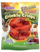 Tropical Carnival® Crinkle Crisps® with Fruit Gluten Free Small Animal Treat