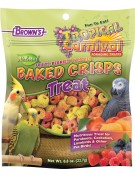 Tropical Carnival® Natural Baked Crisps for Pet Birds