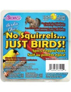 Garden Chic!®  No Squirrels... Just Birds!™ Suet Cake