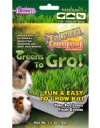 Tropical Carnival® Natural Greens To Gro!™ Wheatgrass Kit
