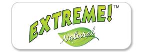 Extreme! Natural Pet Food Logo