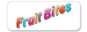Fruit Bites Pet Food Logo