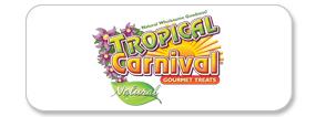 Tropical Carnival Natural Treats Logo
