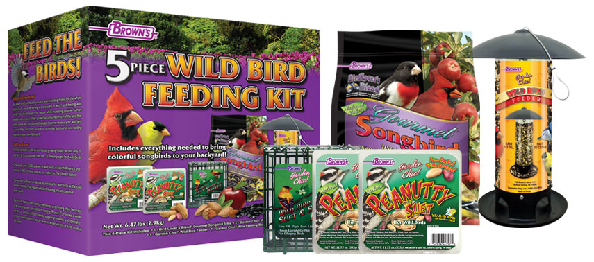 Wild Bird Feeding Kit, Wild Bird Food
