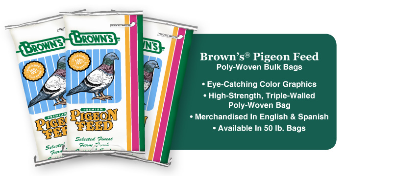 Pigeon Food Bag