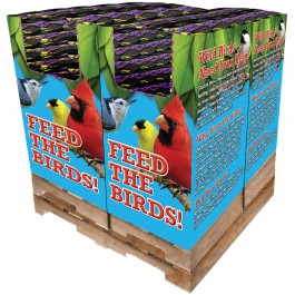 168 pc. - 10 lb. Song Blend® Nyjer® (Thistle Seed) Quad Bin