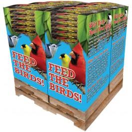 200 pc. - 10 lb. Bird Lover's Blend®  All Seasons! Banquet Quad Bin
