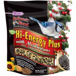 Bird Lover's Blend® Hi-Energy Plus™ with Mealworms
