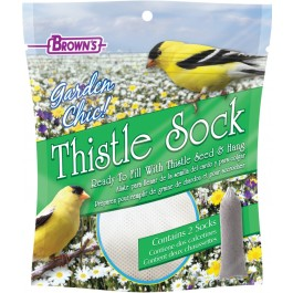 2-Pack Garden Chic!® Thistle Socks