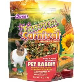 Tropical Carnival® Gourmet Pet Rabbit Food