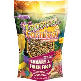1.5 lb. Tropical Carnival®  Canary & Finch Food