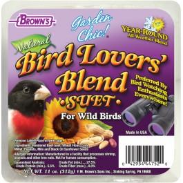 Garden Chic!®  Bird Lover's Blend® Suet Cake
