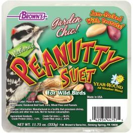 Garden Chic!®  Peanutty Suet Cake