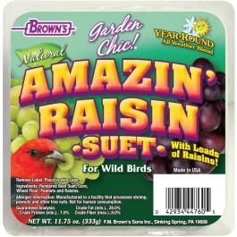 Garden Chic!®  Amazin' Raisin Suet Cake