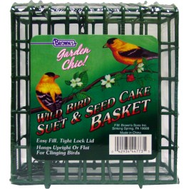 Garden Chic!®  Wire Feeding Basket
