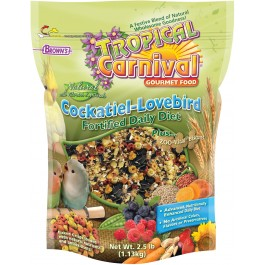 Tropical Carnival® Natural Cockatiel-Lovebird Fortified Daily Diet