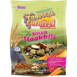 Tropical Carnival® Natural Small Hookbill Fortified Daily Diet