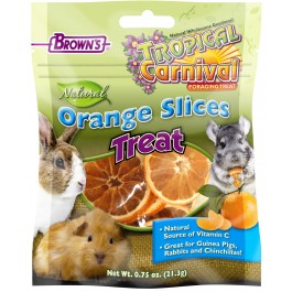 Tropical Carnival® Natural Orange Slices Small Animal Treats