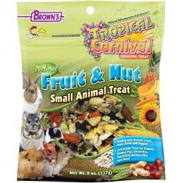 Tropical Carnival® Natural Fruit & Nut Small Animal Treat