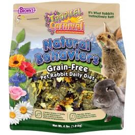 Tropical Carnival® Natural Behaviors® Pet Rabbit Grain-Free Daily Diet