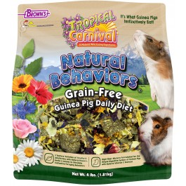Tropical Carnival® Natural Behaviors® Guinea Pig Grain-Free Daily Diet