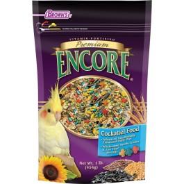 Encore® Premium Cockatiel Food