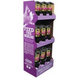 18 pc. Garden Chic!®  Multi-Port Wild Bird Feeder Display