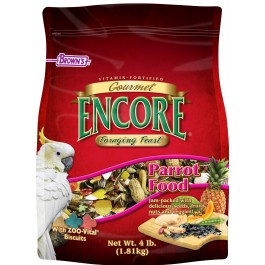 Encore® Gourmet Foraging Feast® Parrot Food