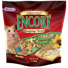 Encore® Gourmet Foraging Feast® Hamster Food