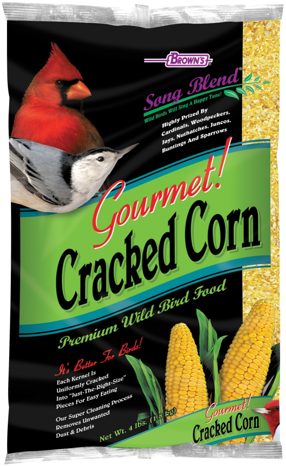 Song Blend® Gourmet! Cracked Corn | F M  Brown's