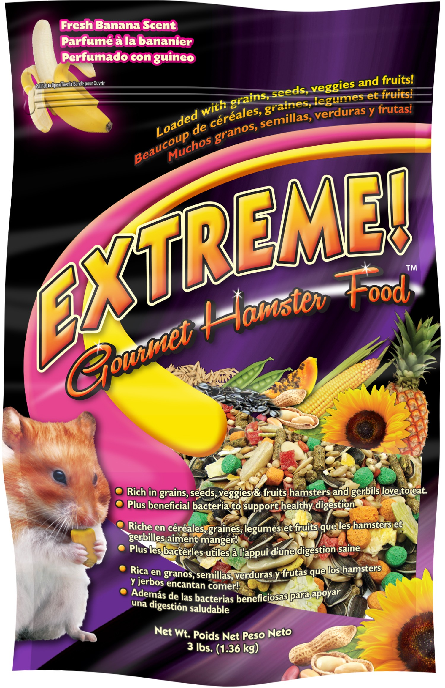 extreme gourmet hamster food� extreme� gourmet food