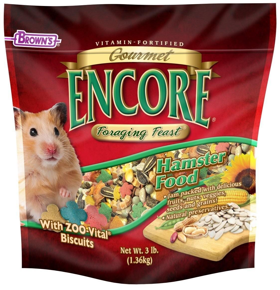 Encore® Gourmet Foraging Feast® Hamster Food | F M  Brown's