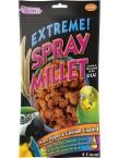 Extreme!™ Honey-Dipped & Calcium-Coated Spray Millet (Orange)