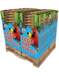 156 pc. - 7 lb. Bird Lover's Blend®  Cardinal Buffet Quad Bin