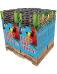 240 pc. - 5 lb. Bird Lover's Blend® Nut, Fruit & Berry Quad Bin