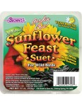 Garden Chic!®  Sunflower Feast Suet Cake