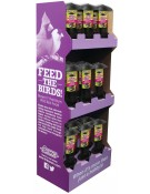 18 pc. Garden Chic!®  Multi-Port Wild Bird Feeder Display