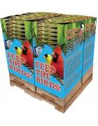 280 pc. - 5 lb. Bird Lover's Blend®  Extreme!™ Trail Mix Quad Bin