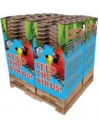240 pc. - 5 lb. Bird Lover's Blend® No Waste Blend Quad Bin