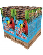 240 pc. - 5 lb. Bird Lover's Blend®  Hi-Energy Plus!™ with Mealworms Quad Bin