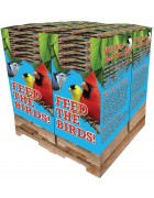 240 pc. - 5 lb. Bird Lover's Blend® Fancy Finch Quad Bin